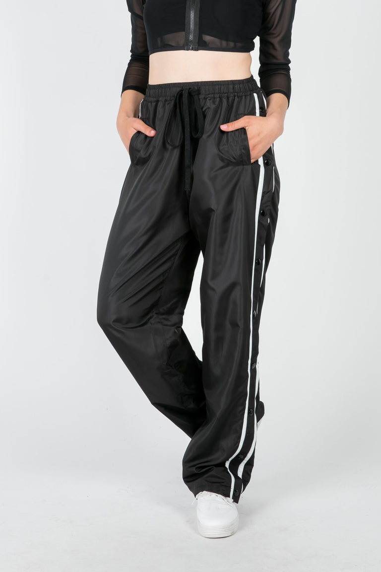 Bottoms - TURN DOWN FOR WHAT WINDBREAKER PANT