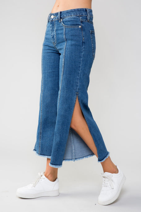 Bottoms - WANT IT THAT WAY DENIM PANTS