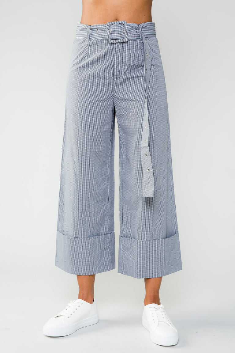 Bottoms - WOMEN UP WIDE LEG PANT