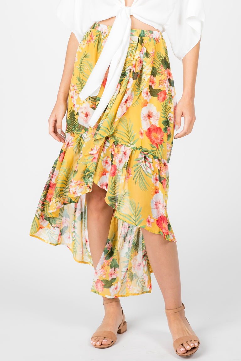 Mi Gente Tropical Skirt