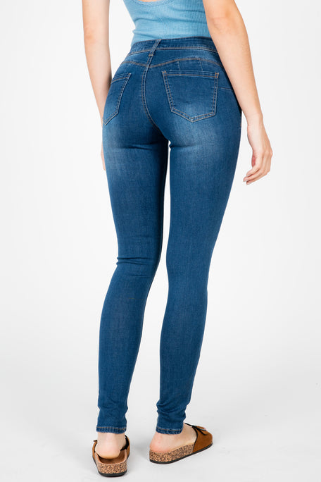 CASSY DENIM WASHED PANT