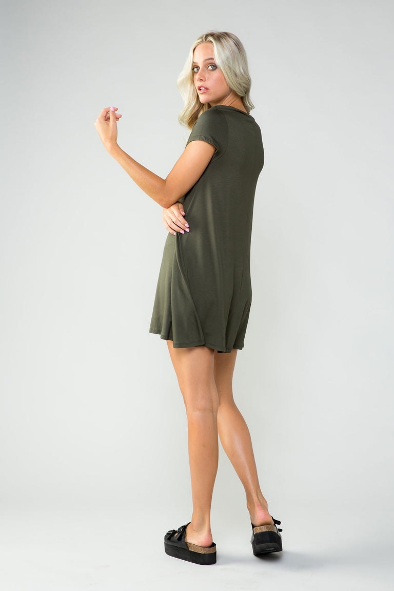 Dress - EVERYTHING YOU WANT TUNIC DRESS