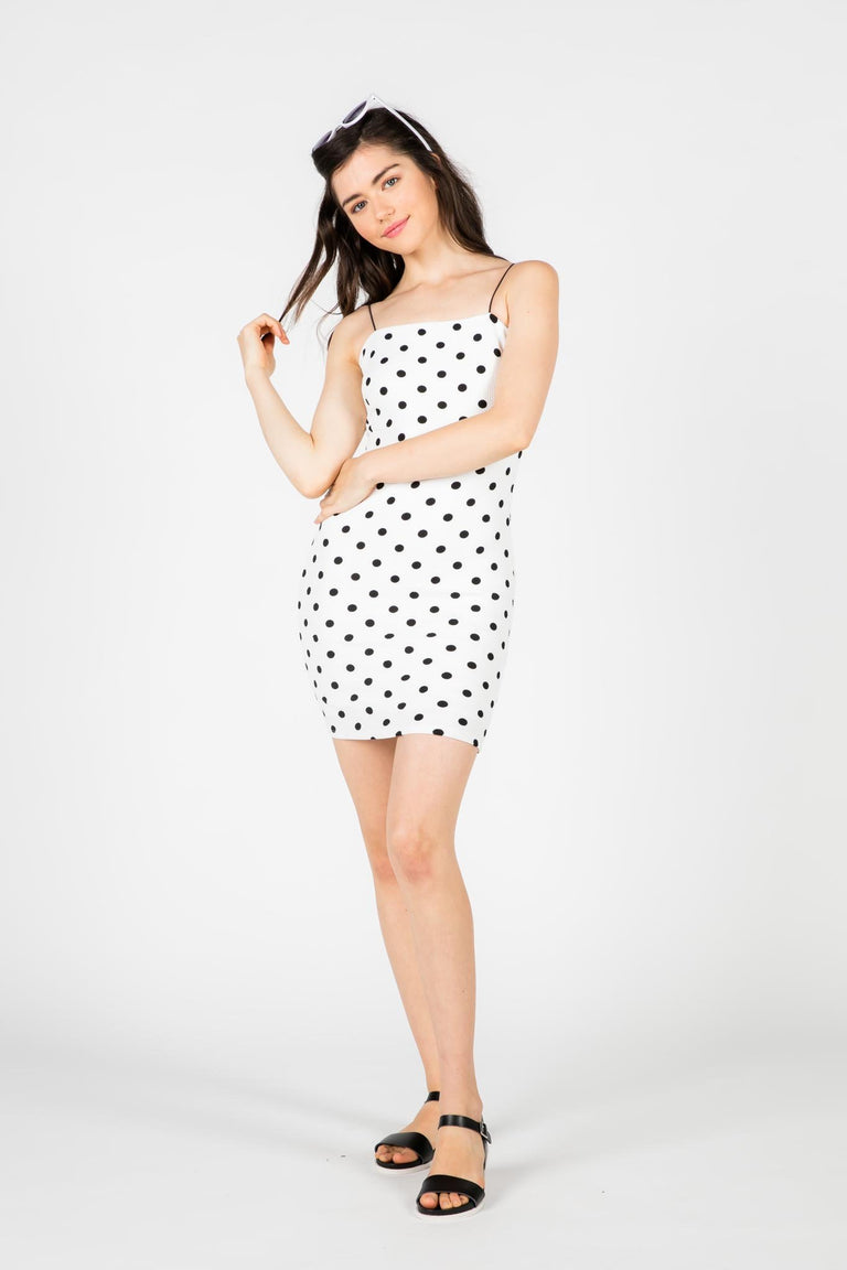 Dress - RIZZO POLKA DOT DRESS