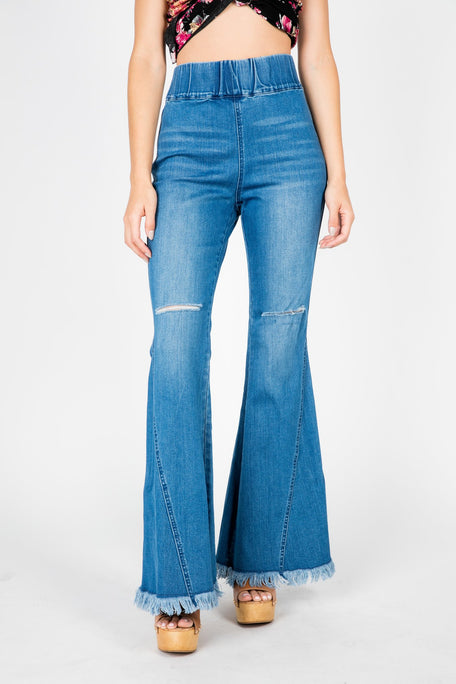 Jeans - FULL SWING HIGH WAIST FLARE JEAN