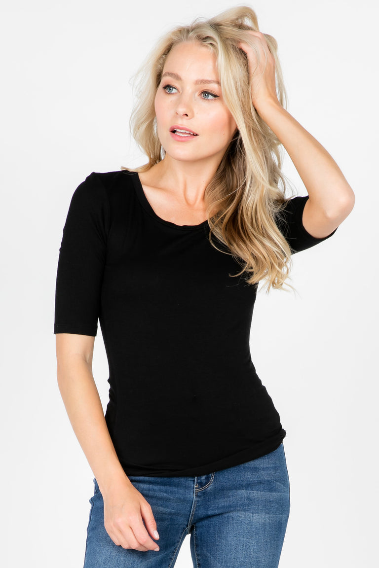 ARIA ELBOW LENGTH SHIRT