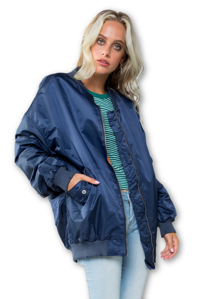 Outerwear - BIG BANK BOMBER JACKET