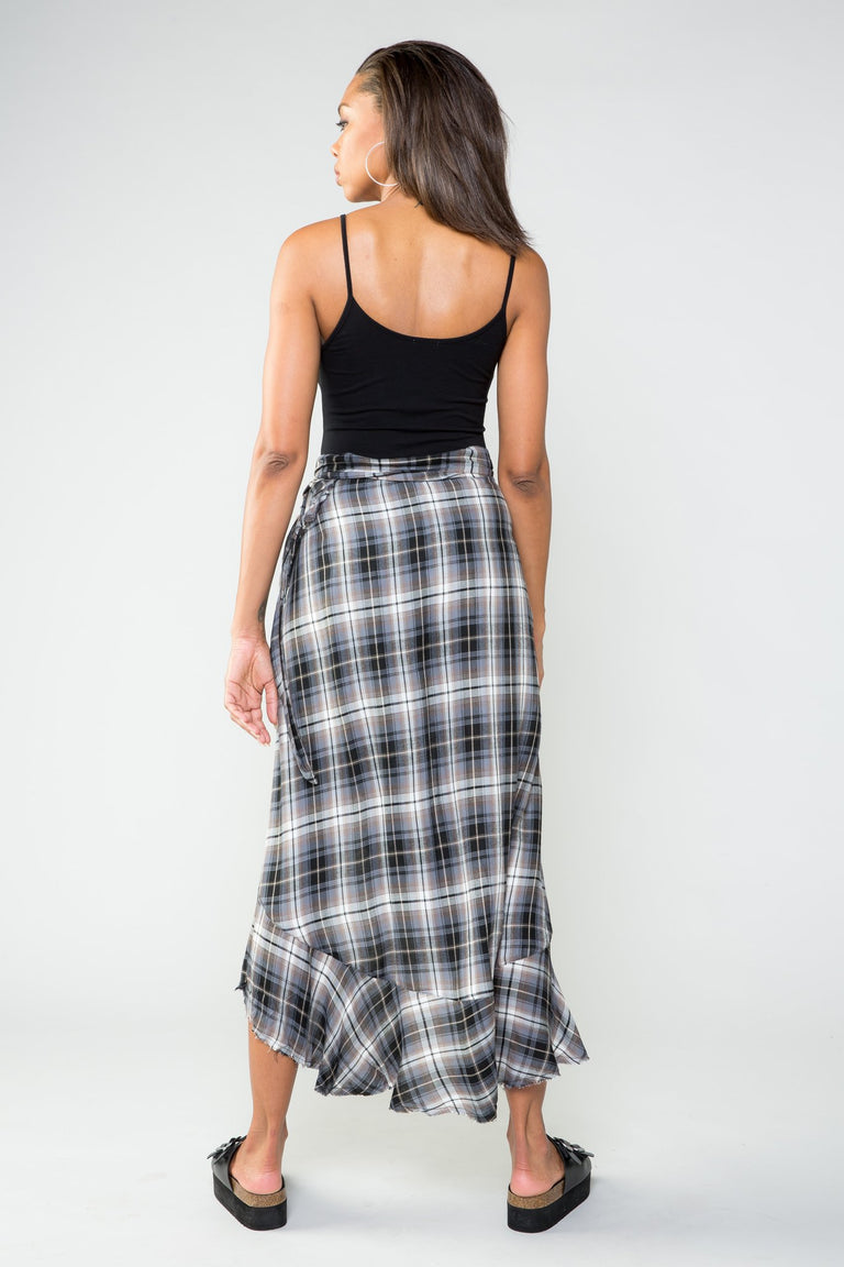 Skirt - MAKE ME FEEL WRAP SKIRT