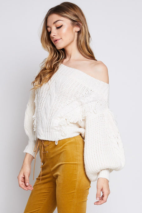 Tops - LEAN ON ME SWEATER