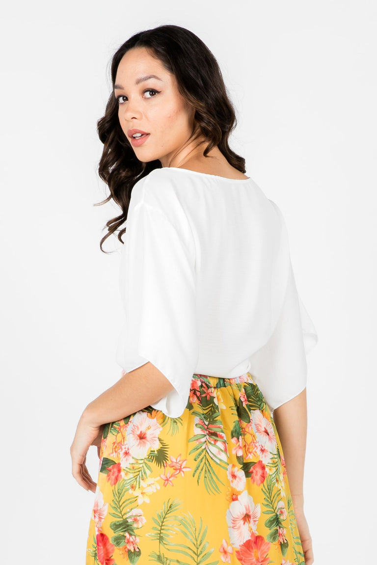 Tops - PRETTY THOUGHTS TIE TOP