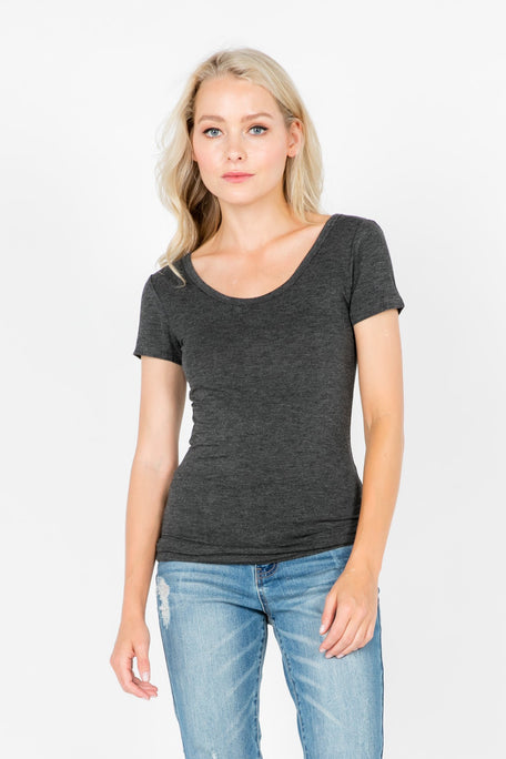 Tops - ROLLING IN THE DEEP SCOOP NECK T-SHIRT