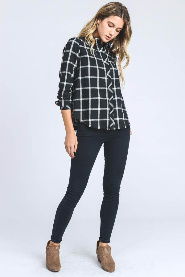 Tops - THRILLER PLAID SHIRT