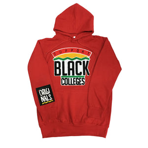 "Originals ""Support Black College"" Hoodie ""Red"""