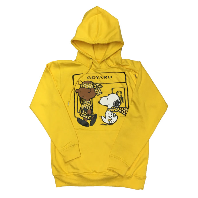 Yellow Go Snoopy Hoody