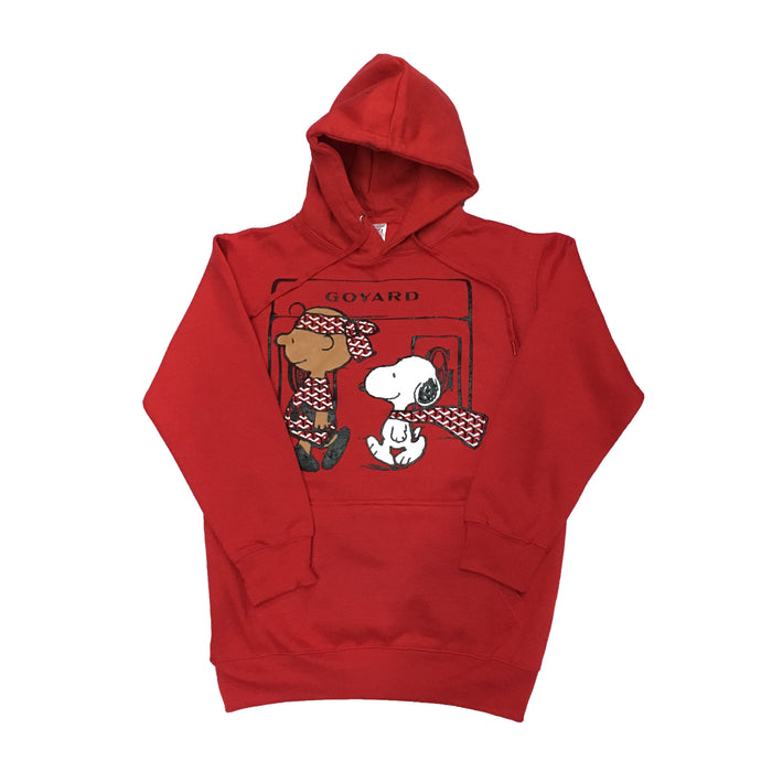 Red Go Snoopy Hoody