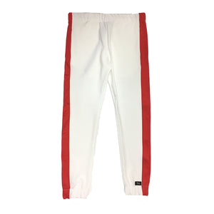 "By Kiy Track Pant ""USA"" Edition White/Red"