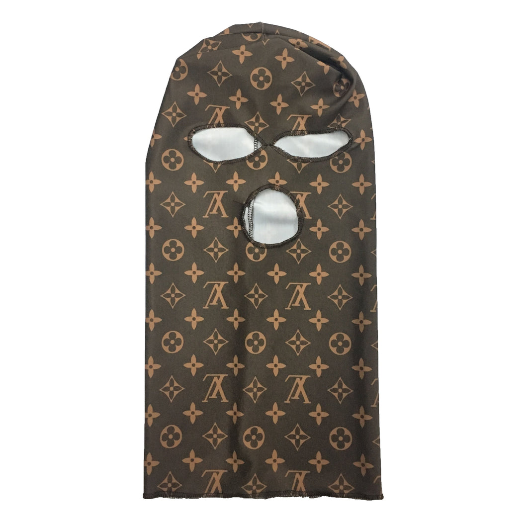 LV Brown Ski Mask