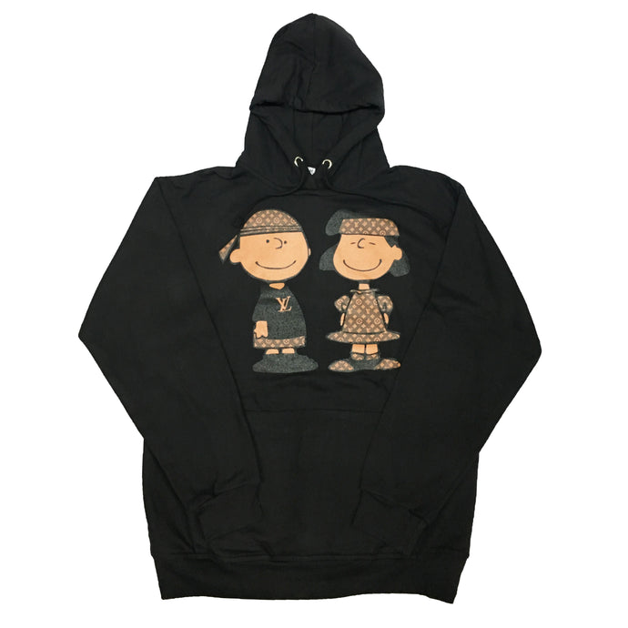 Black Go Snoopy Hoody