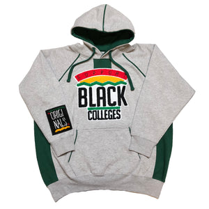 "Originals ""Support Black College"" Two-Tone Hoodie ""Grey/Green"""