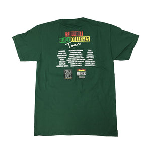 "Originals ""Support Black Colleges"" Tour Short Sleeve ""Forest Green"""