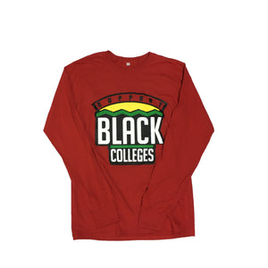 "Originals ""Support Black Colleges"" Tour Long Sleeve ""Red"""