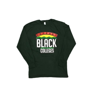 "Originals ""Support Black Colleges"" Tour Long Sleeve ""Forest Green"""