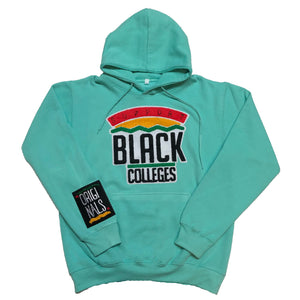 "Originals ""Support Black College"" Hoodie ""Pastel Turquoise"""