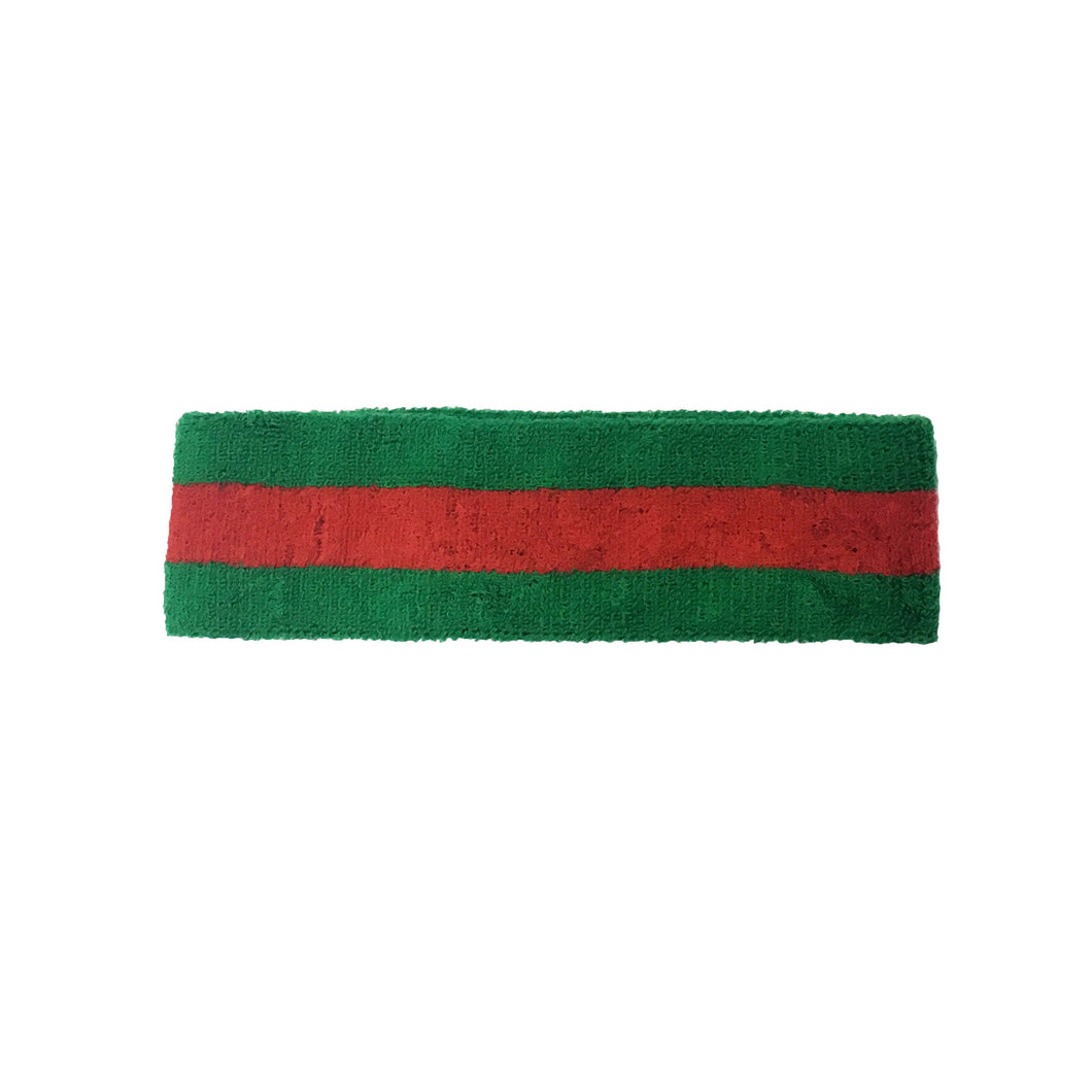 Green/Red Headband
