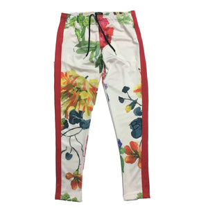 "Pre Order By Kiy Track Pant ""Rose Above"" Edition ""White"""
