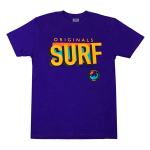 "Originals ""SURF"" T-Shirt ""Cancun Purple"""