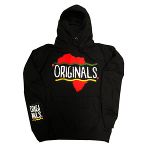 "Originals ""Motherland"" Varsity Hoodie ""Black"""