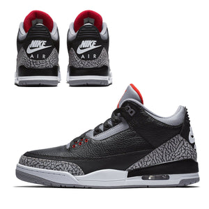 "Air Jordan 3 ""Black Cement"" 2018"