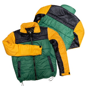 "Originals Hiking Series Down Jacket ""Green/Navy/Canary"""