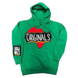 "Originals ""Motherland"" Varsity Hoodie ""Green"""