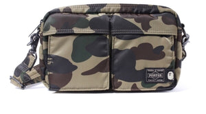 "Bape Porter Shoulder Bag ""Green"""