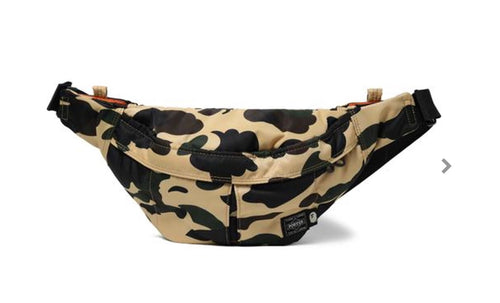 "Bape Porter Waist Bag ""Yellow"""