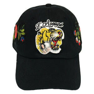 L'Avengle Rose Embroidered Dad Hat