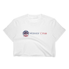 """The Classic"" Women's Crop Top (White) - Honor One"