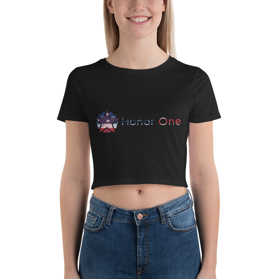 Women's Crop Tee - Honor One