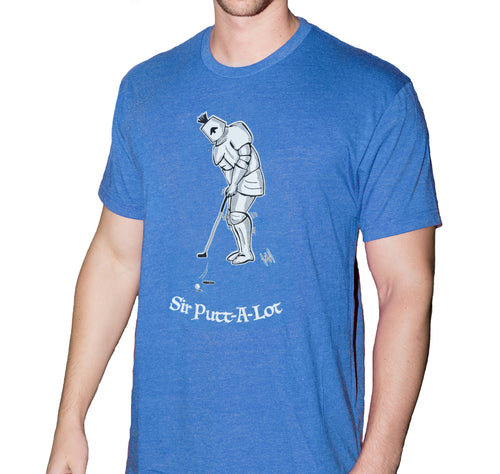 Sir Putt-a-Lot T-shirt