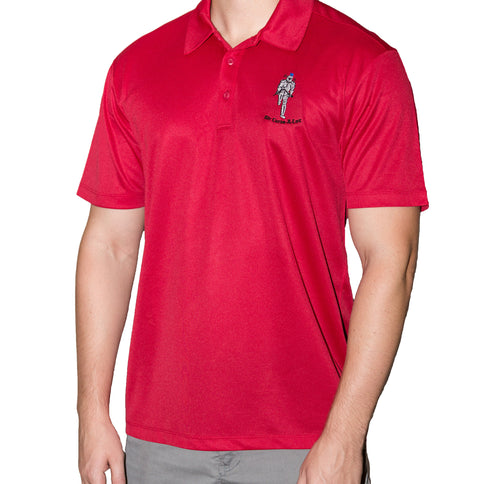 Sir Curse-a-Lot Red Polo.