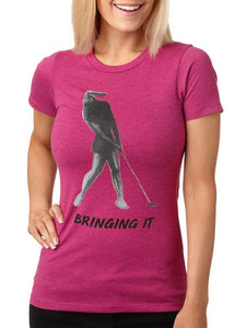 """Bringing it"" Women's T-Shirt"