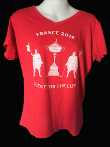 Womens 2018 Quest for the Cup T-Shirt.