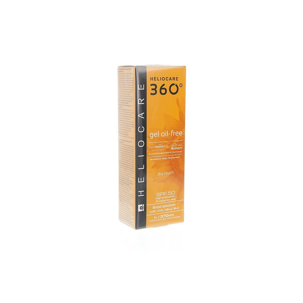 Heliocare 360 Gel Oil-Free Dry Touch Face Spf 50 (50Ml) - Heliocare-360-Gel-Oil-Free-Dry-Touch-Face-Spf-50-50Ml - Oil-Free Sonnenschutz -