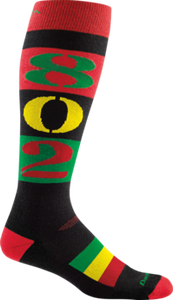 Darn Tough 1838 Rasta knee sock