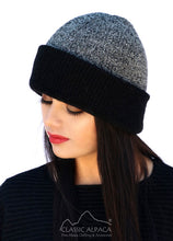 Classic Alpaca Reversible Double Knit English Hat