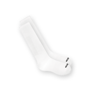 EcoSox Bamboo Athletic Tube 300 series sock for men and women available in black and white
