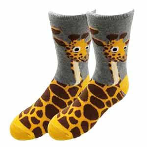 Sock Harbor Giraffe kid's sock