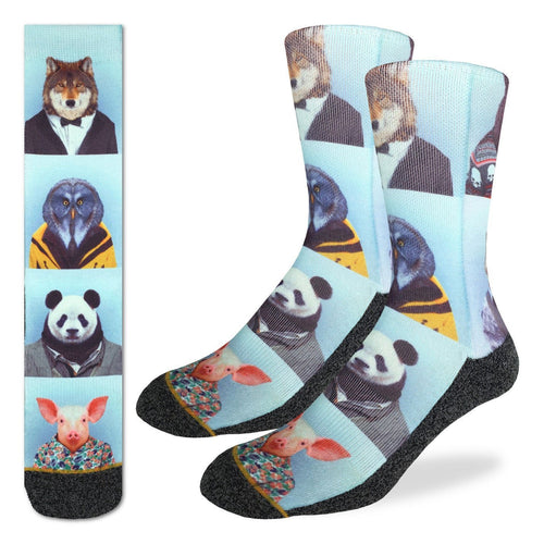 Good Luck Socks Dapper Animals