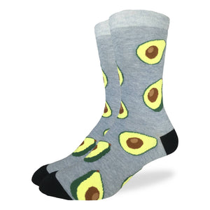 Good Luck Socks Avocado women's and men's socks