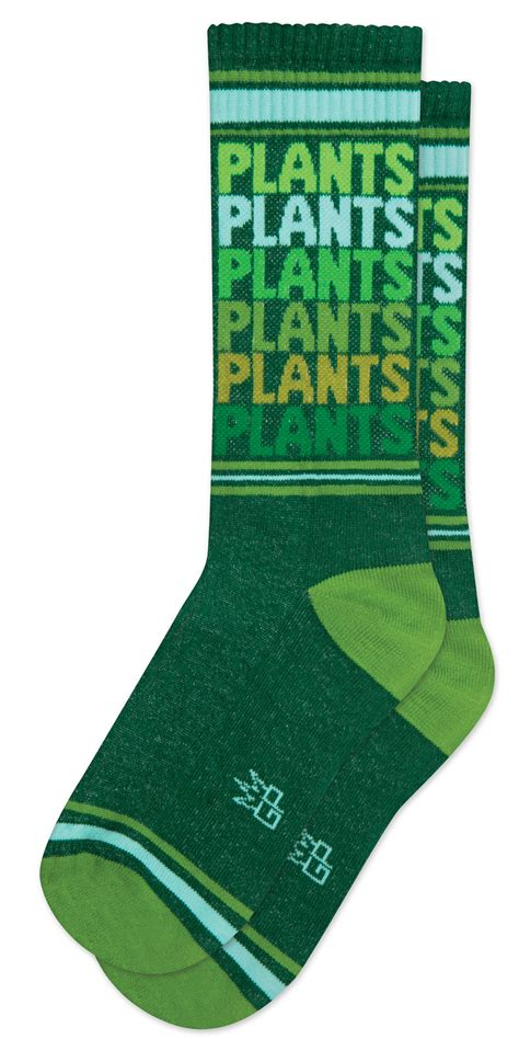 Gumball Poodle Plants women's and men's sock